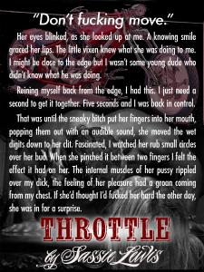 Throttle Promo