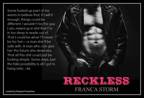Reckless (Black Thorns) Teaser 1