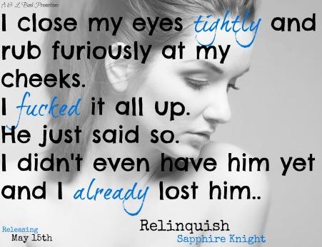 Relinquish Teaser 3