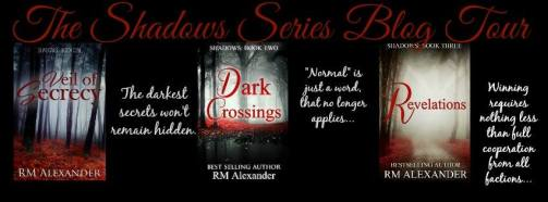 The Shadows Series Blog Tour Banner