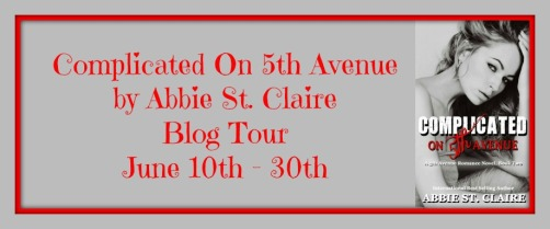 Complicated On 5th Avenue Blog Tour Banner