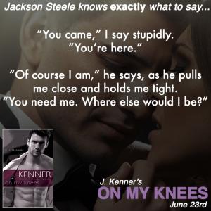On My Knees Teaser 4