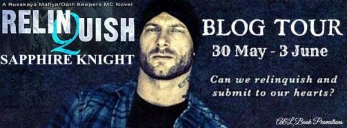 Relinquish Blog Tour Banner