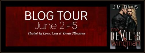 The Devil's Wingman Blog Tour Banner