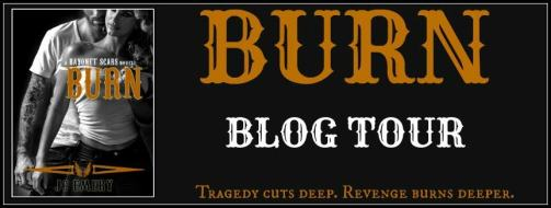 BURN Blog Tour Banner