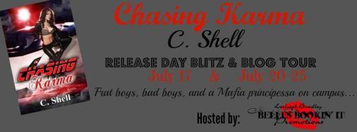 Chasing Karma Blog Tour Banner