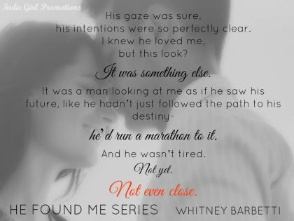 He Found Me Series Teaser 2
