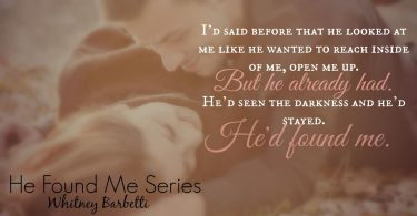 He Found Me Series Teaser 4