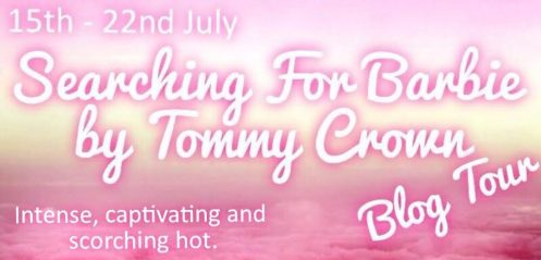 Searching For Barbie Blog Tour Banner