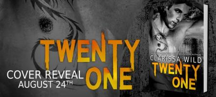 Twenty-One Cover Reveal Banner