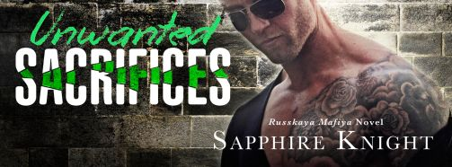 Unwanted Sacrifices Cover Reveal Banner