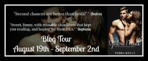 You're Mine Blog Tour Banner