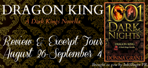 Dragon King Review & Excerpt Tour banner