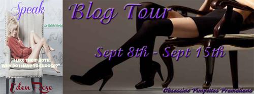 Speak Blog Tour Banner