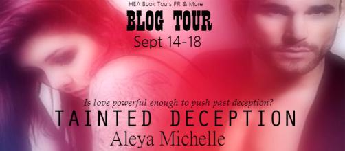 Tainted Deception Blog Tour Banner