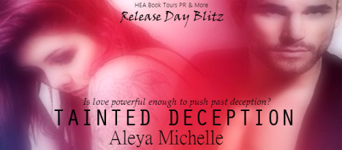 Tainted Deception Cover Reveal Banner