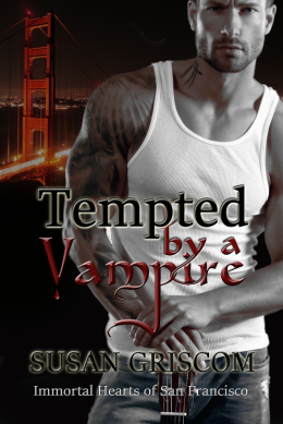 Tempted by a Vampire Cover