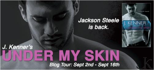 Under My Skin Blog Tour Banner