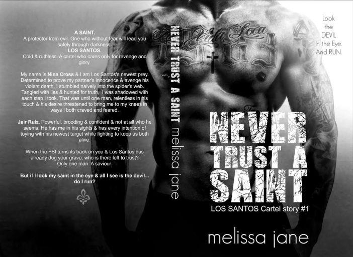 Never Trust a Saint Full Cover