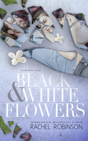 Black & White Flowers Cover